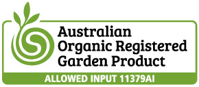 Australian Organic Registered Garden Product