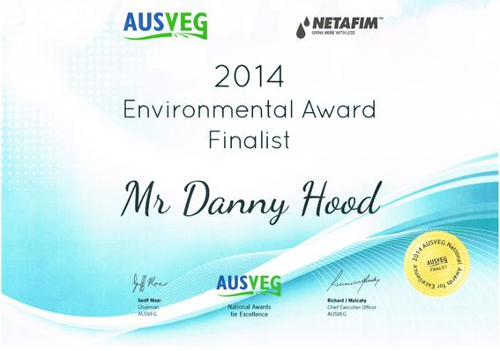 Ausveg environmental award 2014