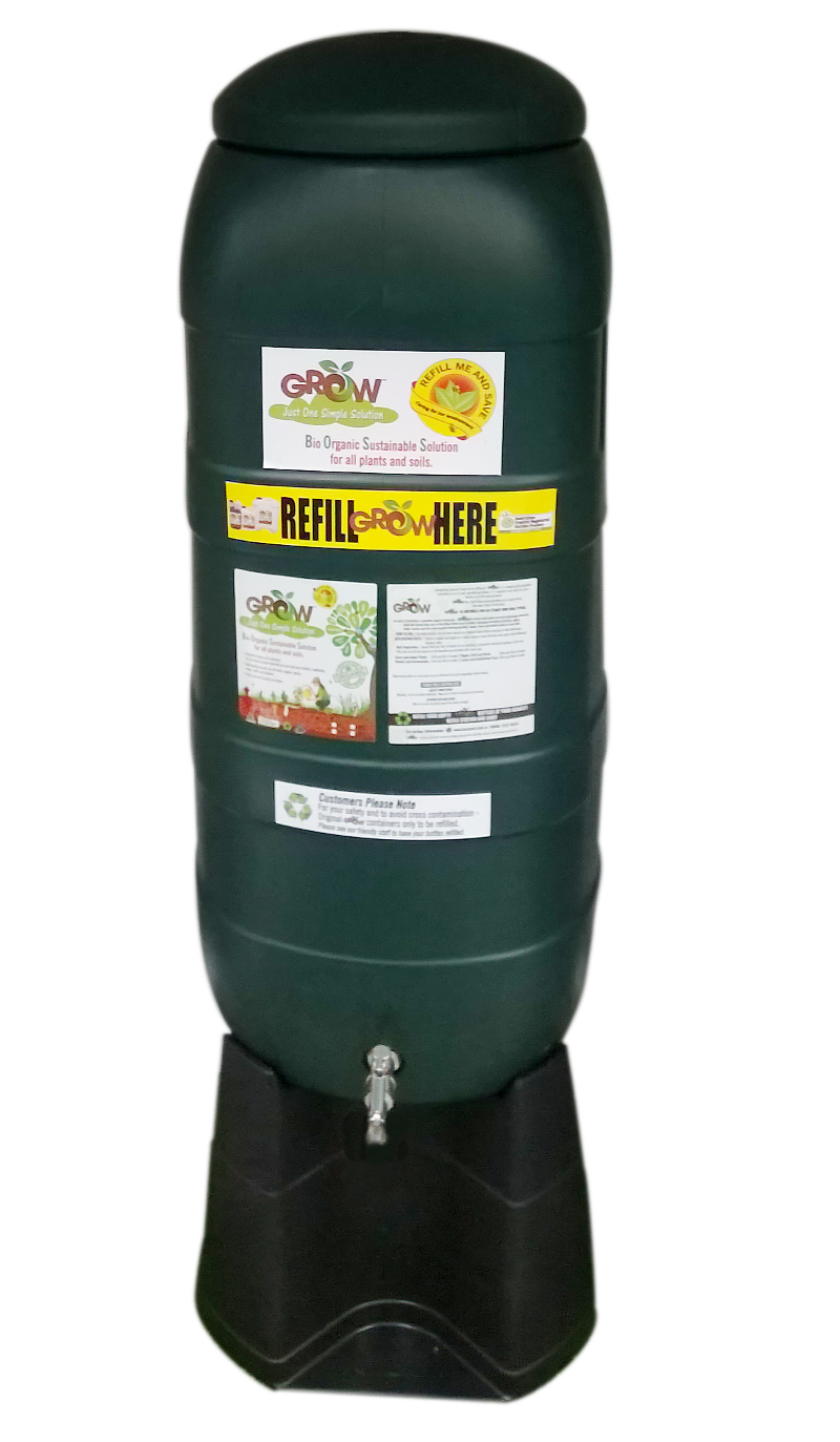 Grow organic fertiliser refill station
